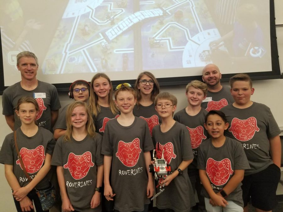 Robotics Club Makes it to State Competition