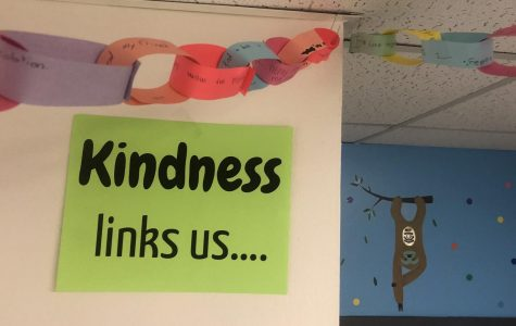 Kindness Links the Upstairs Classrooms
