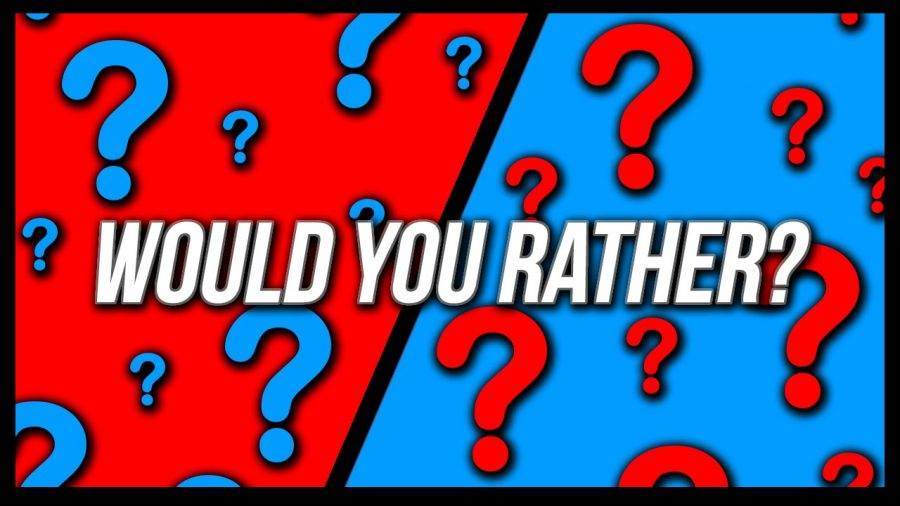 Holiday Would you Rather Questions Results.