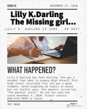 Lilly's newspaper
