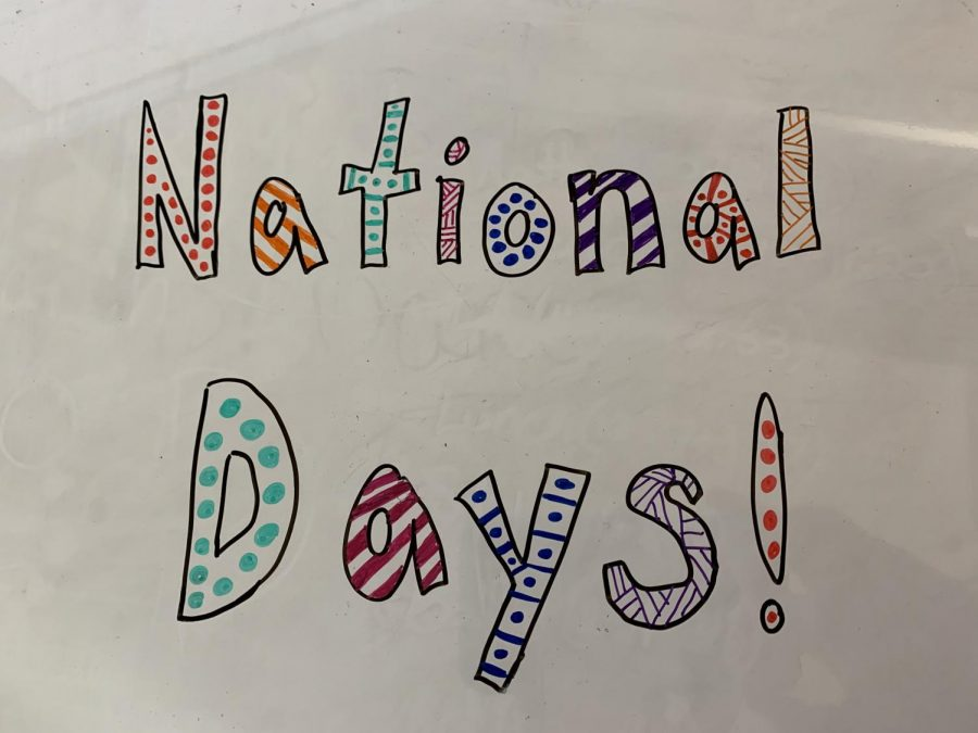 National Days!